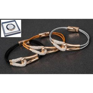 Equilibrium RGP Big Kiss Leather Bracelet