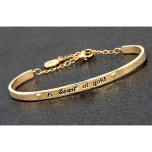 Equilibrium GP Pure Elegance Bangle Heart of Gold