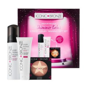 Iconic Bronze 3 Pce Luxury Tanning Gift Set