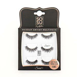 SoSu by Suzanne Jackson Sara EyeLashes Multipack