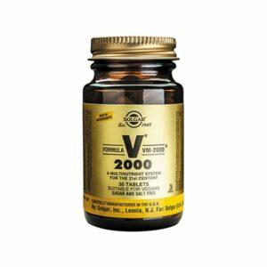 Solgar Formula VM-2000 – (30) Tablets