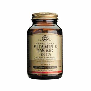 Solgar Vitamin E 268mg (400IU) Softgels (50)