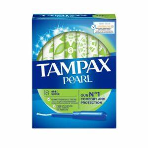 Tampax Pearl Super Applicator Tampons