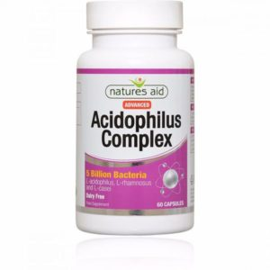 Natures Aid Acidophilis Complex 5 Billion Capsules (60)