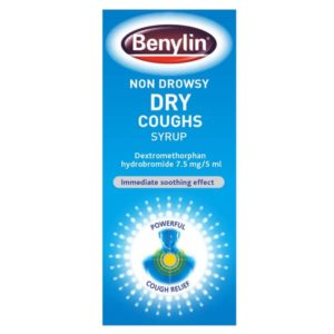 Benylin Non Drowsy Dry Cough Syrup (125ml)