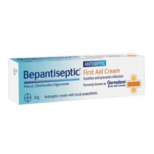Bepantiseptic First Aid Cream (30g)