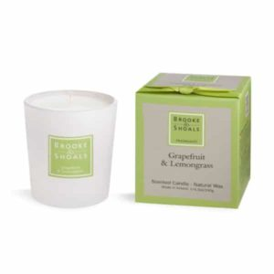Scented Candle – Grapefruit & Lemongrass (190g)