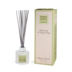 Fragrance Diffuser – White Lily & Ylang Ylang (120ml)