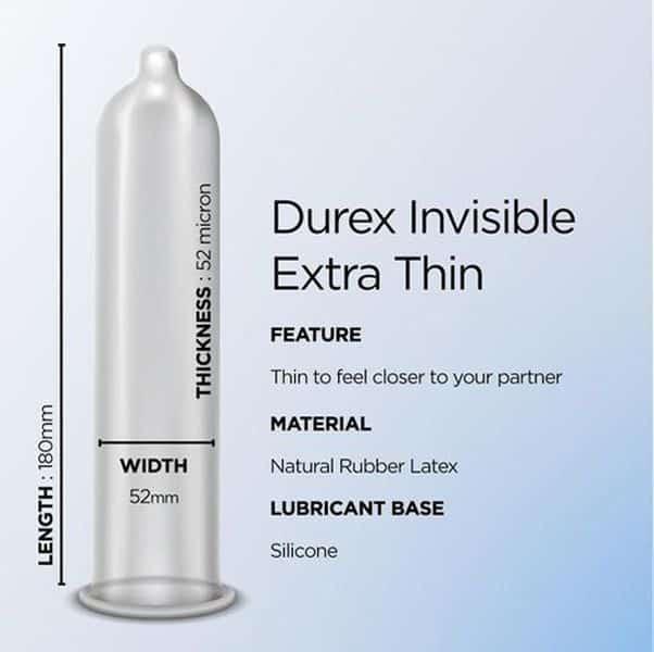 52mm durex DUREX AIRY
