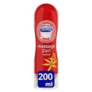Durex Play Massage 2in1 Sensual Lubricant Gel (200ml)