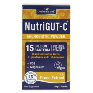 Natures Aid Nutrigut-C (15 Billion Bacteria) – (120g) Powder