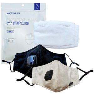 Resusable Adult Face Mask KN95 (with replacement filters)