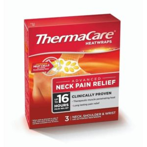 Thermacare Heat Wraps – Neck Relief