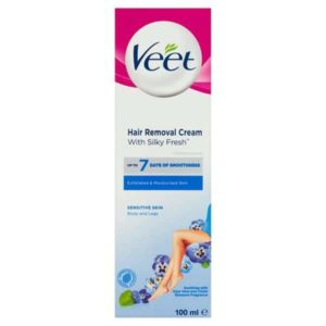 Veet Hair Removal Cream with Aloe Vera for Sensitive Skin 100ml