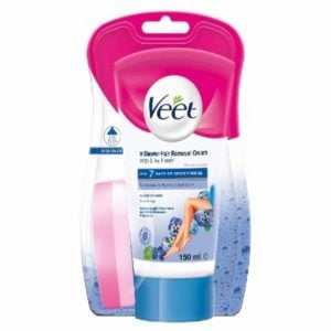Veet In Shower Hair Removal Cream for Sensitive Skin 150ml